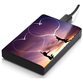 meSleep Love Luv Hard Drive Skin
