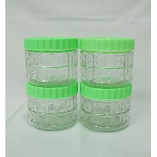 Year Glassware LiteBites Snack Jar - JR475-M21 - (4 pieces,450 ml )
