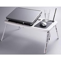 E Table Foldable & Portable Laptop Stand - 1722896