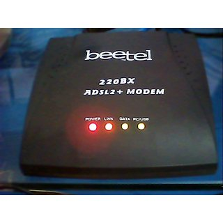 Beetel ADSL2+ Used Modem Model No. 220BX (WITHOUT POWER ADAPTER)