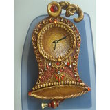 Beautiful Ceremic And Kundan Decorating Wall Clock