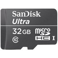 SanDisk MicroSD Card 32 GB Class 10 Ultra Memory Card for Mobile/Tablets/Phablet