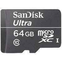 Sandisk  Ultra 64 Gb Class 10 Memory Card For Mobiles