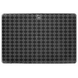 Amzer Luxe Argyle High Gloss Tpu Soft Gel Skin Case For Blackberry Playbook Smoke Grey Color