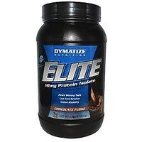 Dymatize Elite Whey Protein Isolate 2 Lb Chocolate Fudge