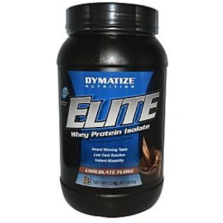 Dymatize Elite Whey Protein Isolate 2 Lb Chocolate Fudge