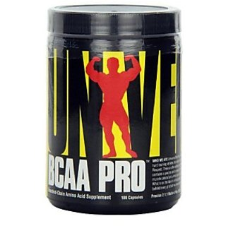 Universal Nutrition Bcaa Pro, 100 Capsules Unflavoured