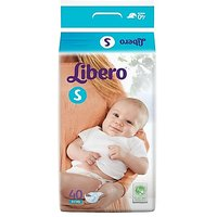 Libero Open Diapers For baby - Small (40 Pieces)