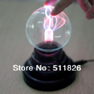 Free shipping USB Glass Plasma Ball Sphere Lightning Light Lamp Party 8316 available at ShopClues for Rs.1701