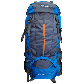 Attache 1021R Climate Proof Rucksack Hiking Backpack 75Lts Blue & Grey