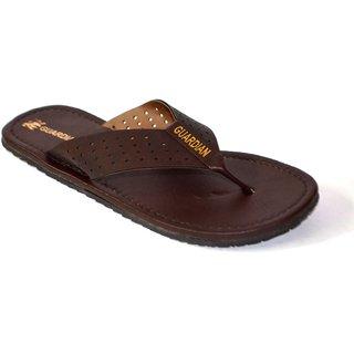 Guardian Mens Dark Brown Sandal