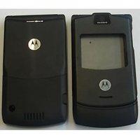 OEM Motorola V3 Black Faceplate Panel Housing With Keypad For Motorola V3 Black