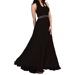 b.s black  Party Wear Gown