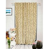 Muskaan Eyelet Royal Eyelet Curtains - Beige (MTCW 0057)