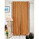 Muskaan Eyelet Swaraj Eyelet Curtains - Orange (MTCW 0115)