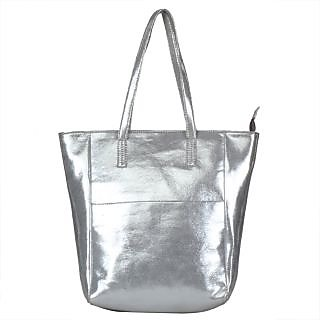 Obsession Women's Trendy Sliver Casual Tote Bag