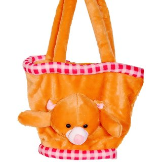 Teddy Basket Bag