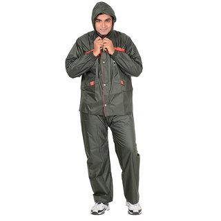 Allwin Men's Micro Raincoat,M-229-GREEN-XL