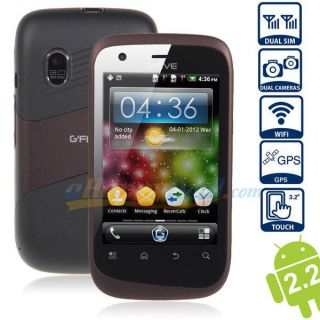 Android Mobile Phone Gfive A68 Android 2.2 With Capacitive Touch Screen And Smooth Performance
