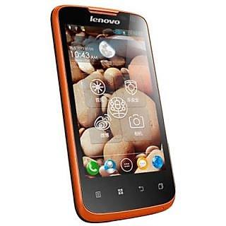 Lenovo S560 Android Mobile Phone Orange