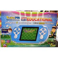 Pocket Pve Educational Learning Game Psp Gaming Console + 6 Cassettes Free