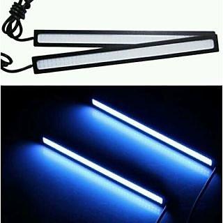 2 X 12V Super Bright BLUE 6W COB LED DRL Driving Daytime Running Lights lamp
