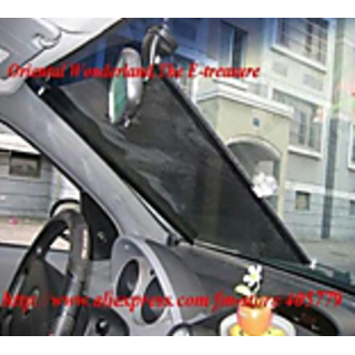 Car Sun Protect Shade Roller- Front+Self Fix + Lowest Price+ Warranty +  Lowest Price