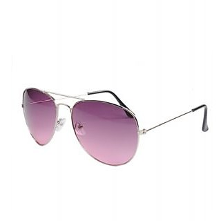SkyWays Urbane Chiseled Silver Aviator With Smitten Burgundy Shades (SG-12), Now With A Free Couple Oscar Key-Chain .. !!