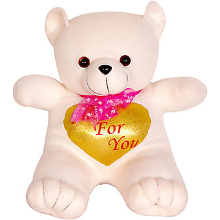 Love Bear - 13.39 Inch (White)