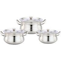Klassic Vimal 6Pcs Dts Pasta Silver Touch Dish Set
