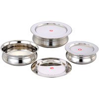 Klassic Vimal 6Pcs Baby Copper Bottom Dish Set