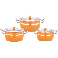 Klassic Vimal 6Pcs Colour Pot Dish Set
