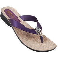 VKC Pride Purple Slippers for Women-147