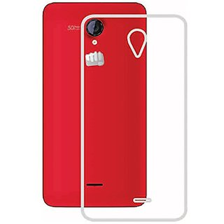 Gripit Ultra Thin Tpu Soft Transparent Back Cover For Micromax Unite 2 A106