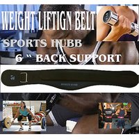 Protoner Weight Lifting Gym Belt With Strap Size Xl 6 Broad