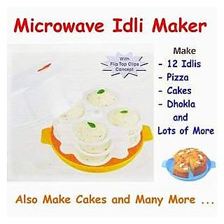 Microwave Idli / Pizza Maker -12 Idlies at a time