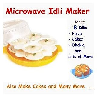 Microwave Idli / Pizza Maker -8 Idlies at a time