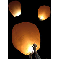 Sky Lantern/Wishing Balloon (set Of 10) - CHRISTMAS Special Offer(AS SEEN ON TV)