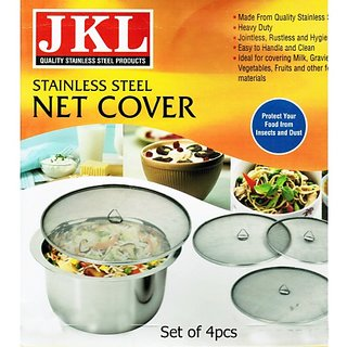 4pcs Stainless Steel Net Cover