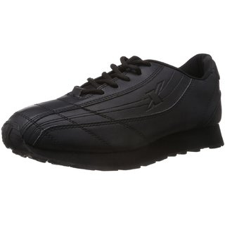 Sparx In Trend Black Canvas Shoes For Men