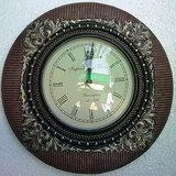 Home Decore Handicrafts Wall Clock WITH MATELIC FINISH