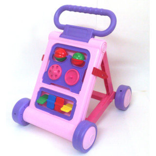 Baby Walker - Colorful  Interactive (Pink)