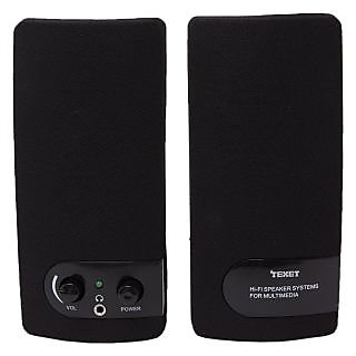 Texet SP01 2.0 PC Speaker in Black