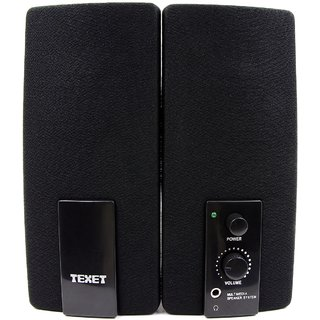 Texet SP03 2.0 PC Speaker in Black