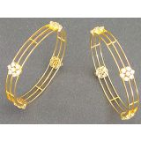 Avsar Real Gold And Diamond Fashionable Bangle Avb052