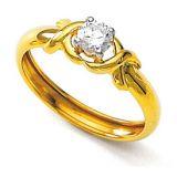 Unique Solitaire Diamond Studio One Stone Fancy Rings Uqr021