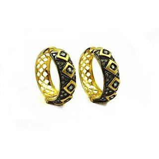 0.98 Ct Real Diamond Victorian Earring