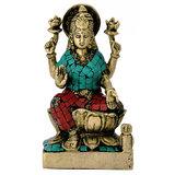 Redbag Goddess Of Prosperity Laxmi Brass Sculpture 4747