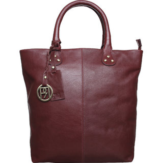 Phive Rivers Women Leather Tote Bag-PR955
