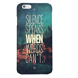 Gripit Silence Speaks When Words Cant Case For Iphone 6